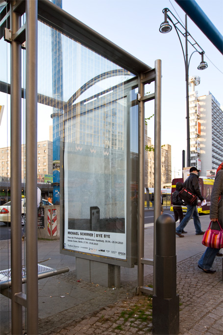 BYE BYE Plakat / Alexanderplatz (Berlin)