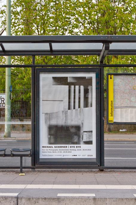BYE BYE Plakat / Mollstraße (Berlin)