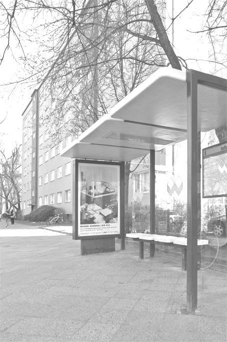 BYE BYE Plakat / Oranienstraße (Berlin)