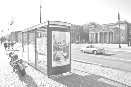 BYE BYE Plakat / Unter den Linden (Berlin)
