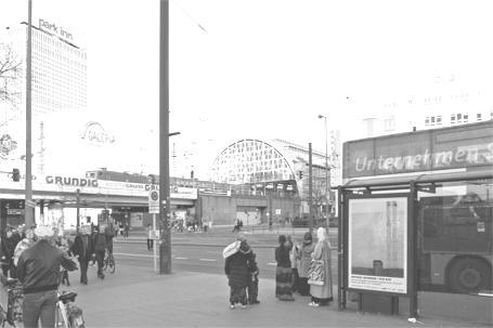 BYE BYE Plakat / Karl-Liebknecht-Straße (Berlin)