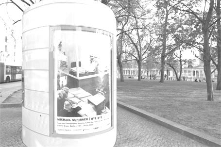 BYE BYE Plakat / Burgatraße (Berlin)